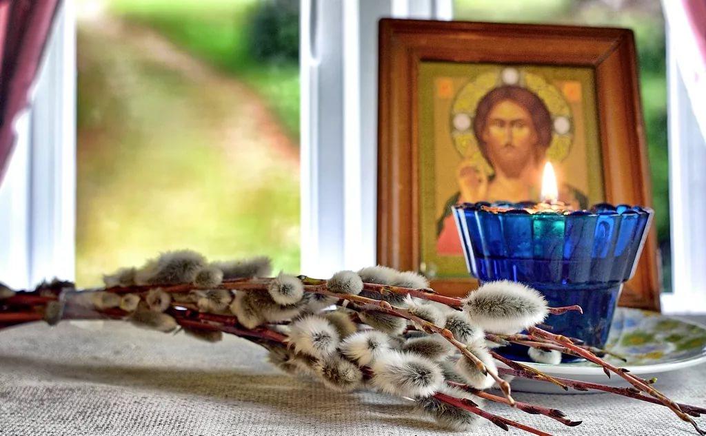 Об освящении вербы