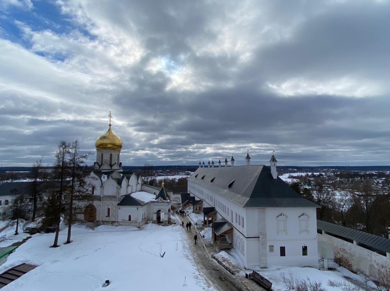 Паломничество в Звенигород